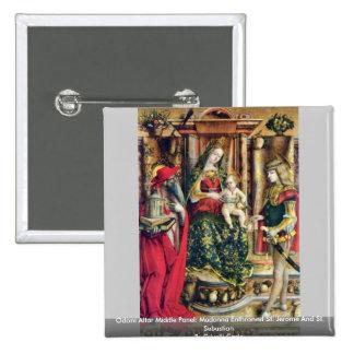 El panel medio del altar de Odoni de Crivelli Carl Pins