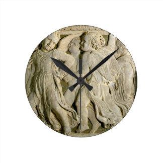 el panel No.I de la Poste-restauración de la pulpa Reloj De Pared