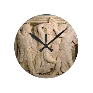 el panel No.II de la Poste-restauración del pul ex Reloj De Pared
