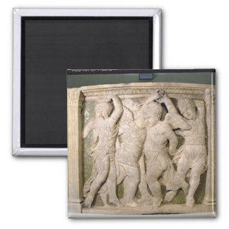 el panel No.IV de la Poste-restauración del pul ex Imanes