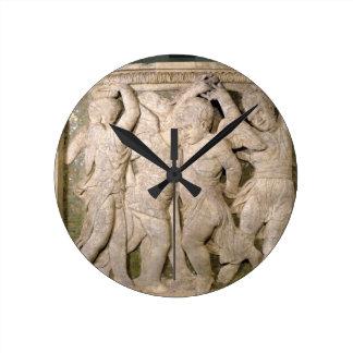 el panel No.IV de la Poste-restauración del pul ex Relojes De Pared