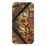 El panel pintado del puente de madera, Lucerna iPhone 4 Cárcasa