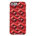 El panel rojo funda de iPhone 6 barely there