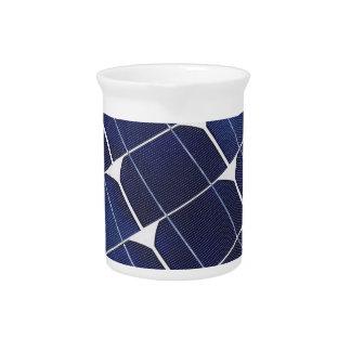 El panel solar jarrón