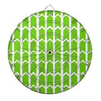 El panel verde de la cerca