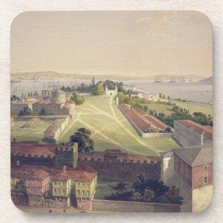 El panorama de Constantinopla, platea 22 del 'Sof  Posavasos De Bebida