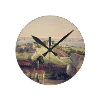 El panorama de Constantinopla, platea 22 del 'Sof  Reloj Redondo Mediano