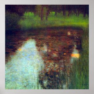 El pantano de Gustavo Klimt Impresiones