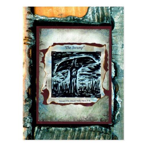 El pantano tarjeta postal