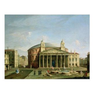 El panteón en Roma Postal