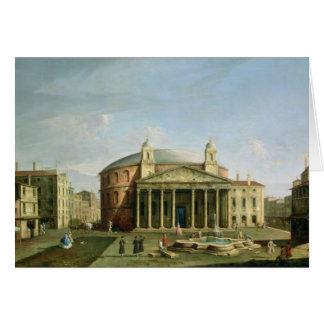 El panteón en Roma Tarjeta De Felicitación
