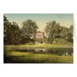 El panteón, parque de Worlitz, Anhalt, cla de Alem Tarjetón