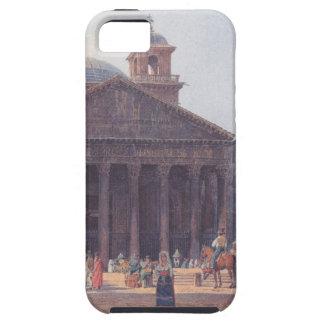 El panteón y el della Rotonda de la plaza en Roma iPhone 5 Carcasa