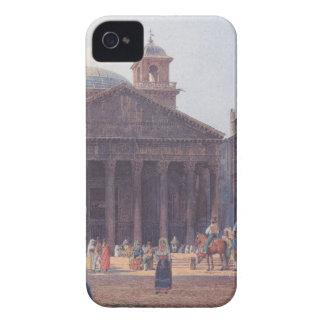 El panteón y el della Rotonda de la plaza en Roma Case-Mate iPhone 4 Cobertura