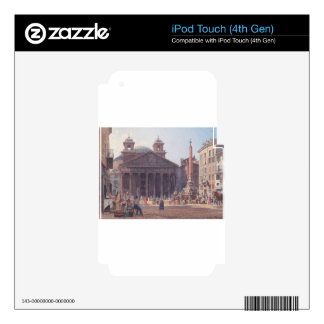 El panteón y el della Rotonda de la plaza en Roma iPod Touch 4G Skin
