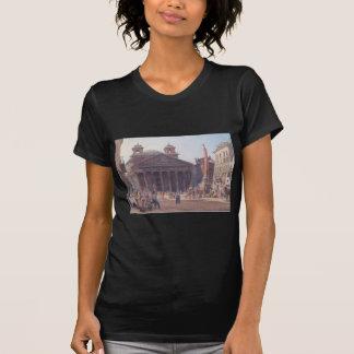 El panteón y el della Rotonda de la plaza en Roma Playeras