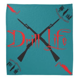 El pañuelo de la vida del taladro bandanas