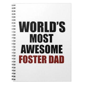 El papá adoptivo más grande del mundo libreta
