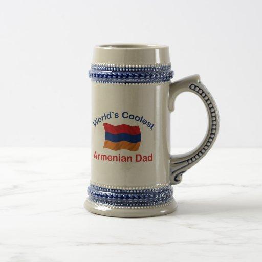 El papá armenio más fresco taza de café