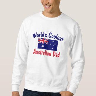 El papá australiano más fresco del mundo sudadera con capucha