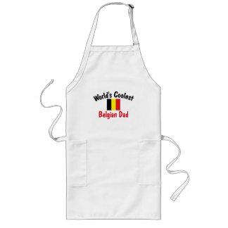 El papá belga más fresco del mundo delantal largo
