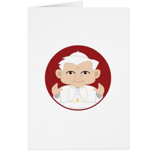 El papa Benedicto XVI Felicitacion