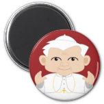 El papa Benedicto XVI Imán Para Frigorifico