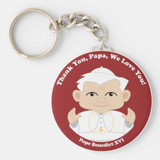 El papa Benedicto XVI Llaveros Personalizados