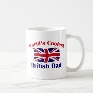 El papá británico más fresco tazas
