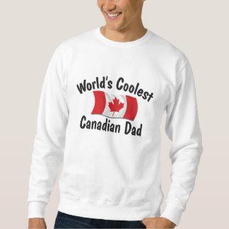 El papá canadiense más fresco sudaderas encapuchadas