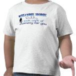 El papá casero agradable tomé el cuidado de la mam camisetas