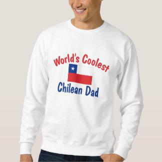 El papá chileno más fresco sudadera con capucha