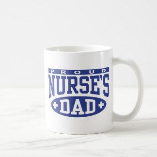 El papá de la enfermera taza básica blanca