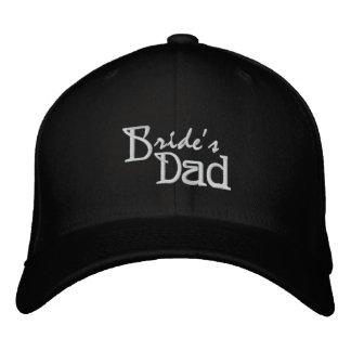 El papá de la novia gorra de beisbol bordada