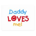 El papá de los colores primarios me ama las postal