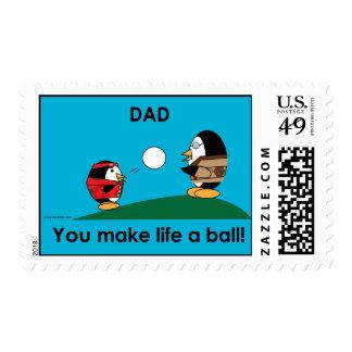 El papá de los Waddles hace que vida una bola Envio