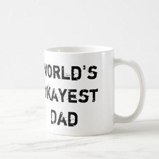 El papá de Okayest del mundo, toma 2 Taza De Café