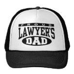 El papá del abogado orgulloso gorros bordados
