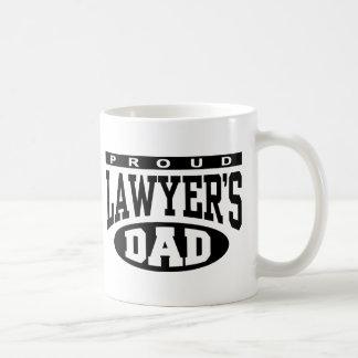 El papá del abogado orgulloso taza