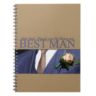 El papá del paso le agradece el mejor hombre - note book