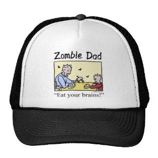 El papá del zombi, come sus cerebros gorro