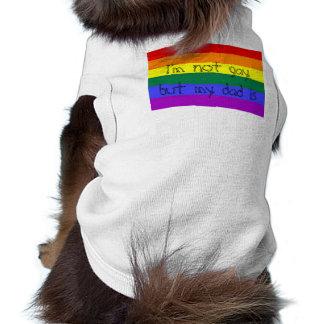 El papá es gay ropa de perro