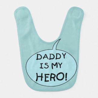 El papá es mi babero del héroe