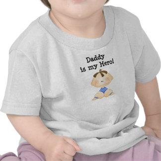 El papá es mis camisetas del héroe
