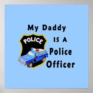 El papá es oficial de policía impresiones