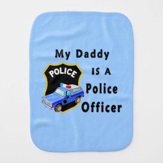 El papá es oficial de policía paños para bebé
