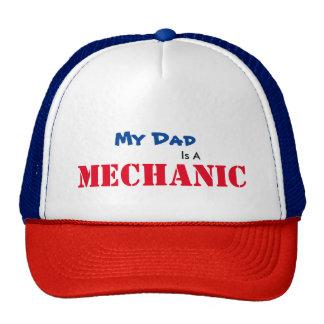 El papá es un gorra del mecánico