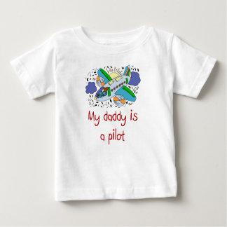 El papá es una camisa experimental del bebé