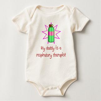 El papá es una camiseta del bebé del terapeuta