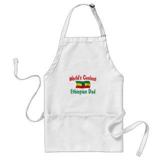 El papá etíope más fresco delantales